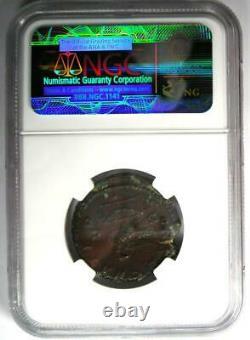 Roman Marcus Aurèle Ae Comme Monnaie De Cuivre 161-180 Ad Certifié Ngc Choice Vf