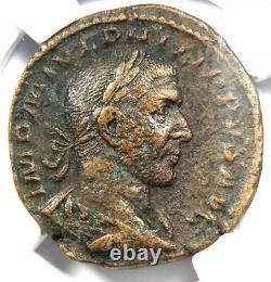 Roman Philip I Ae Sestertius Coin 244-249 Ad Certifié Ngc Choice Vf