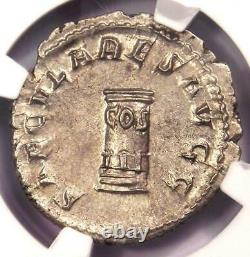 Roman Philip I Ar Double Denarius Coin 244-249 Ad Certifié Ngc Choice Au