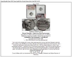 Roman Republic Rome 90bc Rome Apollo Horse Racing Ancient Silver Coin Ngc I61953