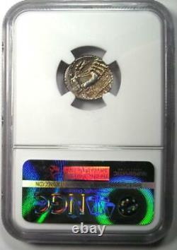 Roman Sulla L. Man Torquatus Ar Denarius Coin 82 Bc Certifié Ngc Au Rare