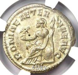 Roman Treb Gallus Ar Double Denarius Pièce 251-253 Ad. Certifié Ngc Ms (unc)