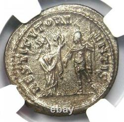 Roman Valerian I Bi Double Denarius Coin 253-260 Ad Certifié Ngc Ms Condition