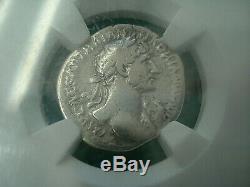 Trajan 98-117 Empire Romain Ngc Beaux Âge D'or Hoard Roman Silver Coin