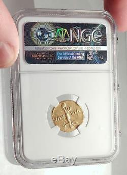Vespasian Ancient 72ad Gold Aureus Monnaie Romaine Victoire De Judaea Capta Ngc I71698