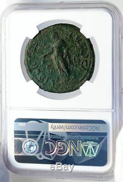 Vespasien Authentique Ancient Rome 72ad Sesterce Roman Coin Libertas Ngc I82623