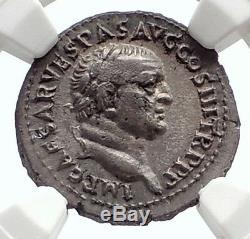 Vespasien Possible Capte Ephèse Coin Judaea Antique Argent Romain Ngc I75083